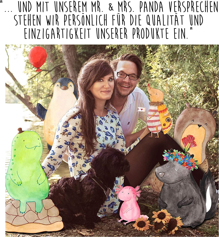 /& Mrs Panda Papier Hefter Mr Farbe Blau Pastell Klemmbrett Fuchs Mama /& Kind mit Spruch