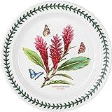 Portmeirion Exotic Botanic Garden Dinner Plate with Red Ginger Motif