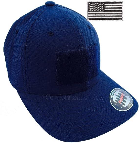 Flexfit Mid-Profile Cool   Dry Calocks Tricot Lightweight Tactical Cap  (Navy Blue) e58b0187710b
