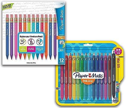 Paper Mate Inkjoy material escolar bolígrafos de gel, punta ...