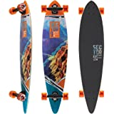 Sector 9 Mini Lookout Complete 38 Inch Bamboo Drop Through Longboard for Carving and Commuting