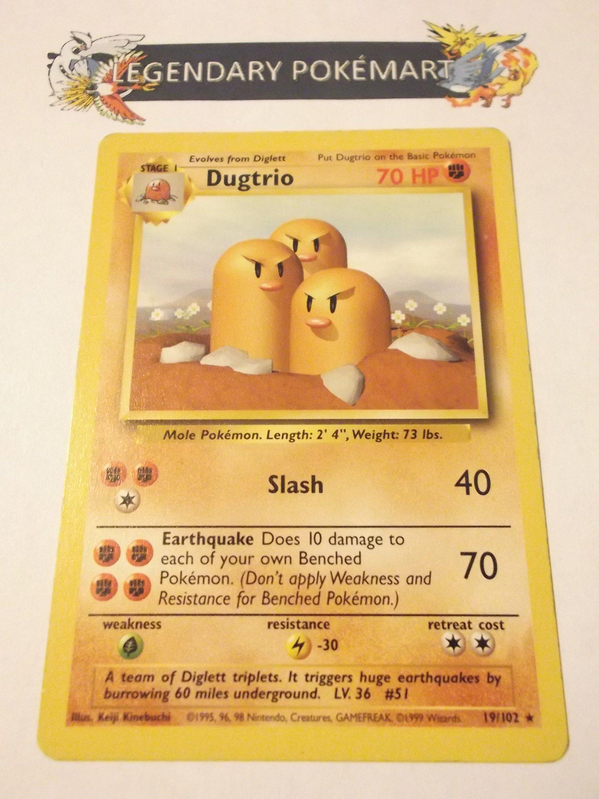 Dugtrio - Basic - 19 [Toy]