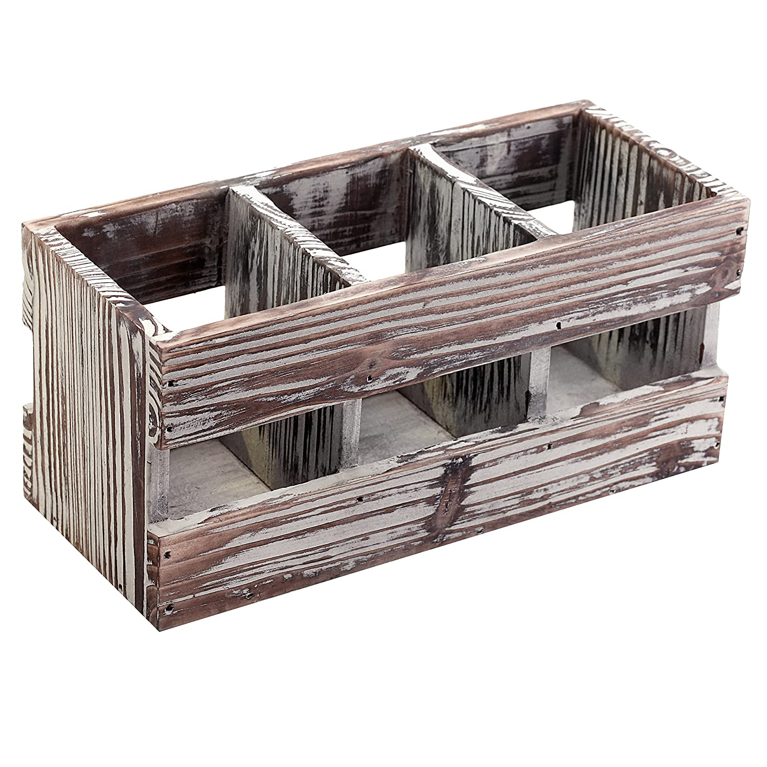 Compartment Torched Desktop Supplies Organizer Image 1