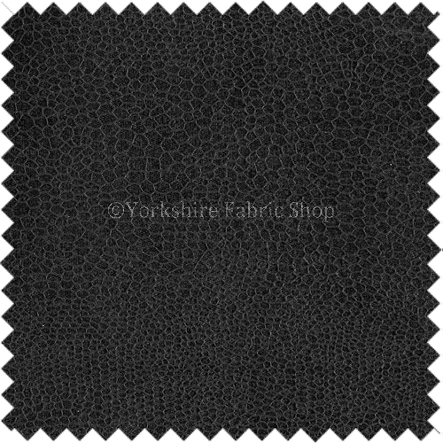 Faux Leather Matt Finish Textured Reptile Pattern Grey Colour Upholstery Fabric