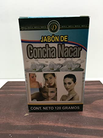 Amazon.com : Mother of Pearl NACRE SOAP JABON DE CONCHA NACAR SKIN WHITENING SCARS CICATRIZ : Beauty