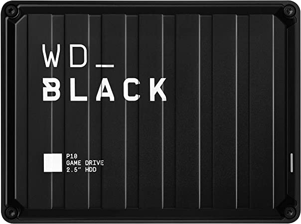 Comprar WD_BLACK  5TB P10 Game Drive for On-The-Go Access To Your Game Library - Works with Console or PC