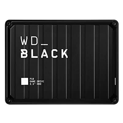 WD Black 2TB P10 Game Drive Portable External Hard Drive Compatible