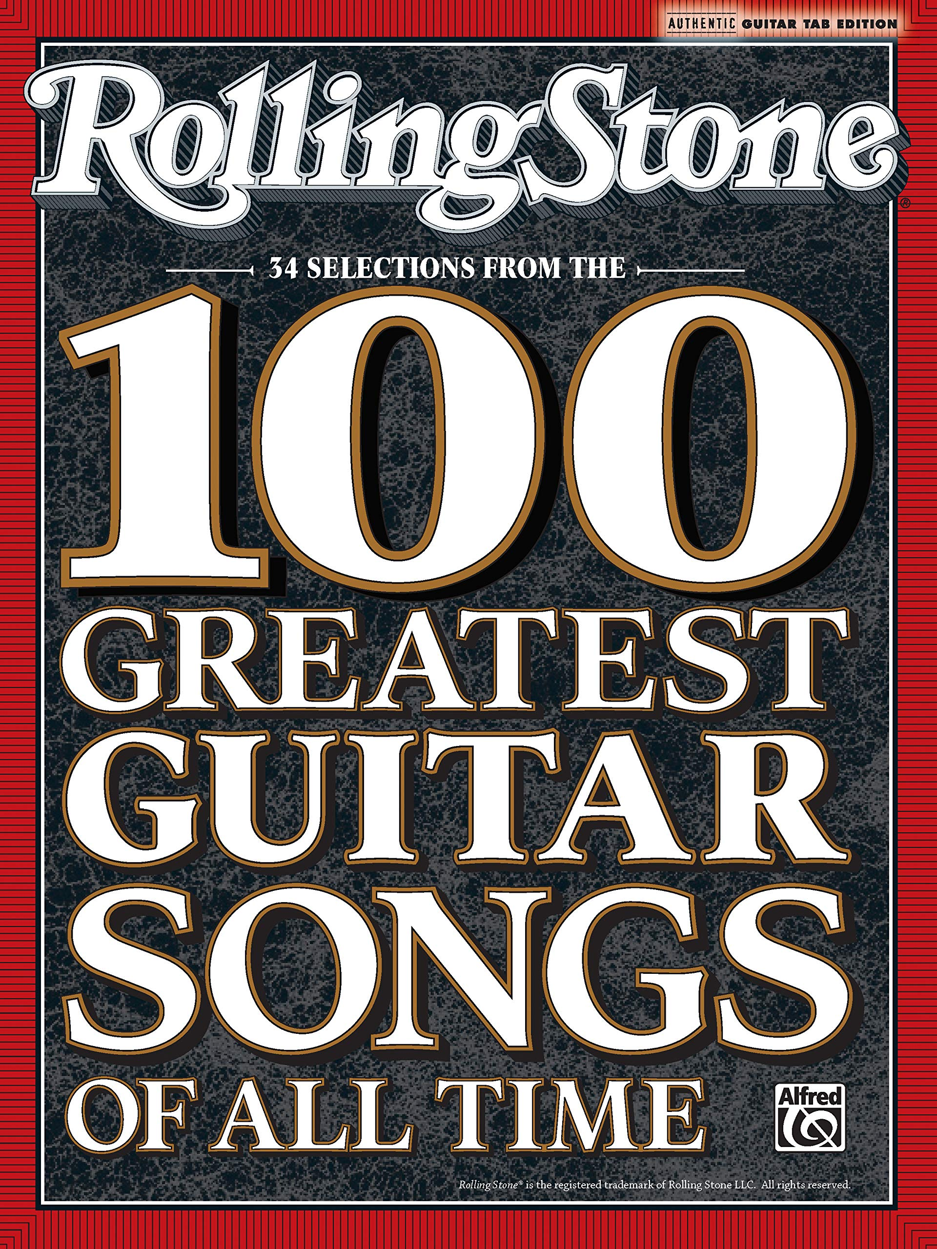 Rolling Stone 34 Selections from the 100 Greatest Guitar Songs of ...