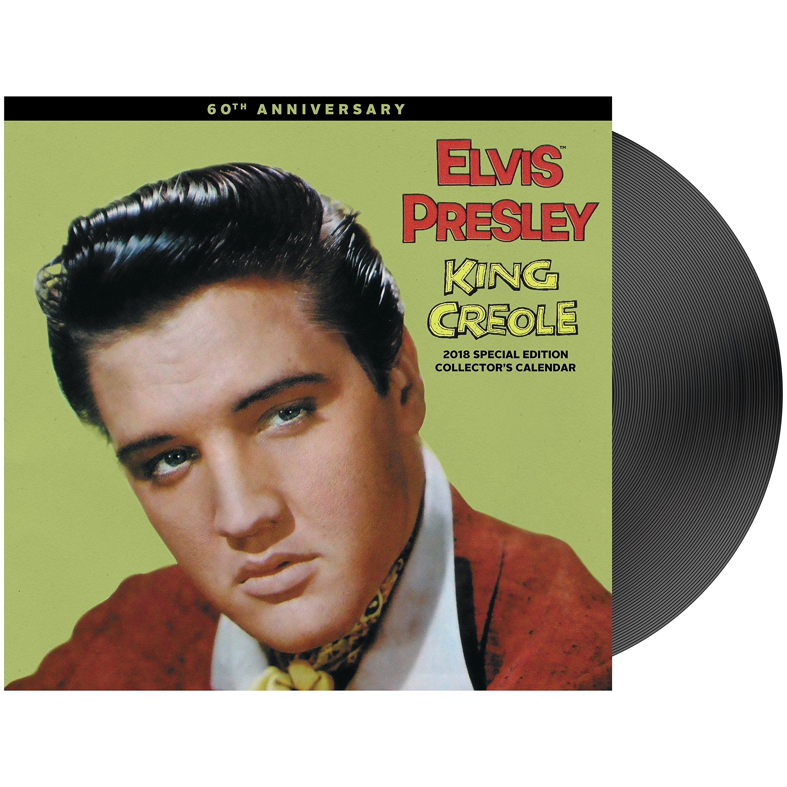 2018 Special Edition Elvis Presley Calendar (Day Dream) Calendar – Special Edition, July 15, 2017