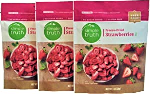 Simple Truth Freeze-Dried Strawberries 1 oz (3 Pack)