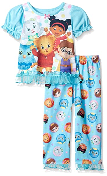 Daniel Tigers Neighborhood - Pantalón de pijama - para niña multicolor azul, Multi