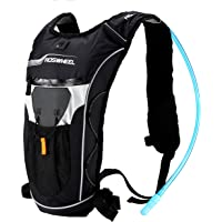 Roswheel 15938 Lightweight Hydration Backpack with 2l Water Bladder for Riding Camping Hiking Cycling