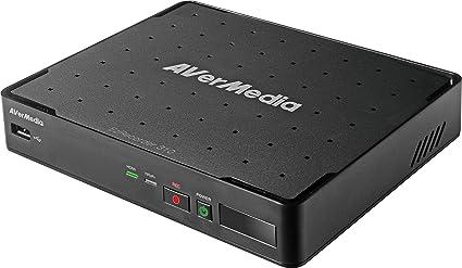 :AVerMedia EZRecorder, Grabador HDMI de alta definición con captura de video HD, PVR, DVR, sin suscripción, grabación programada, edita sin PC, IR ...