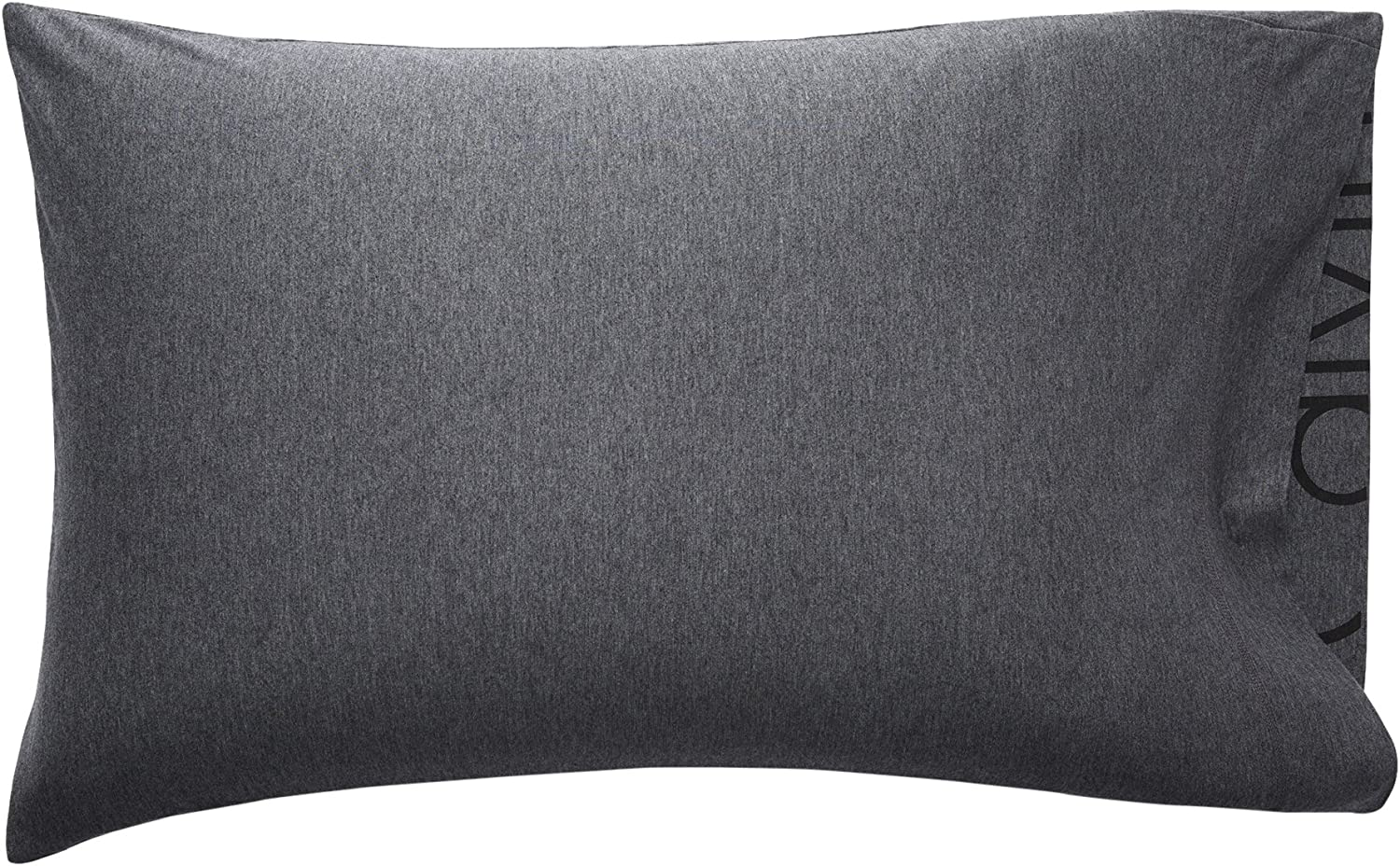 Calvin Klein Home Modern Cotton Body, Standard Pillowcase Pair, Charcoal, 2 Count