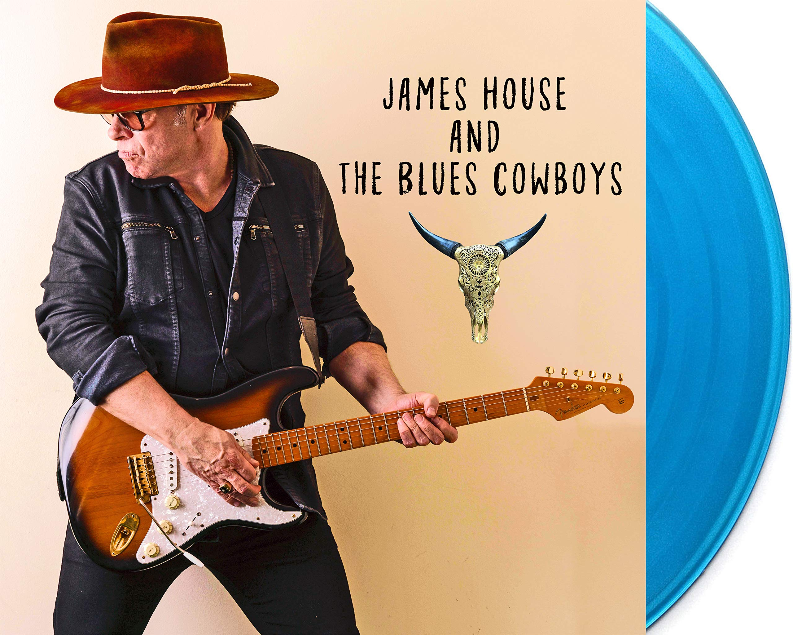 Vinilo : JAMES HOUSE AND THE BLUES COWBOYS - James House & Blues Cowboys (LP Vinyl)