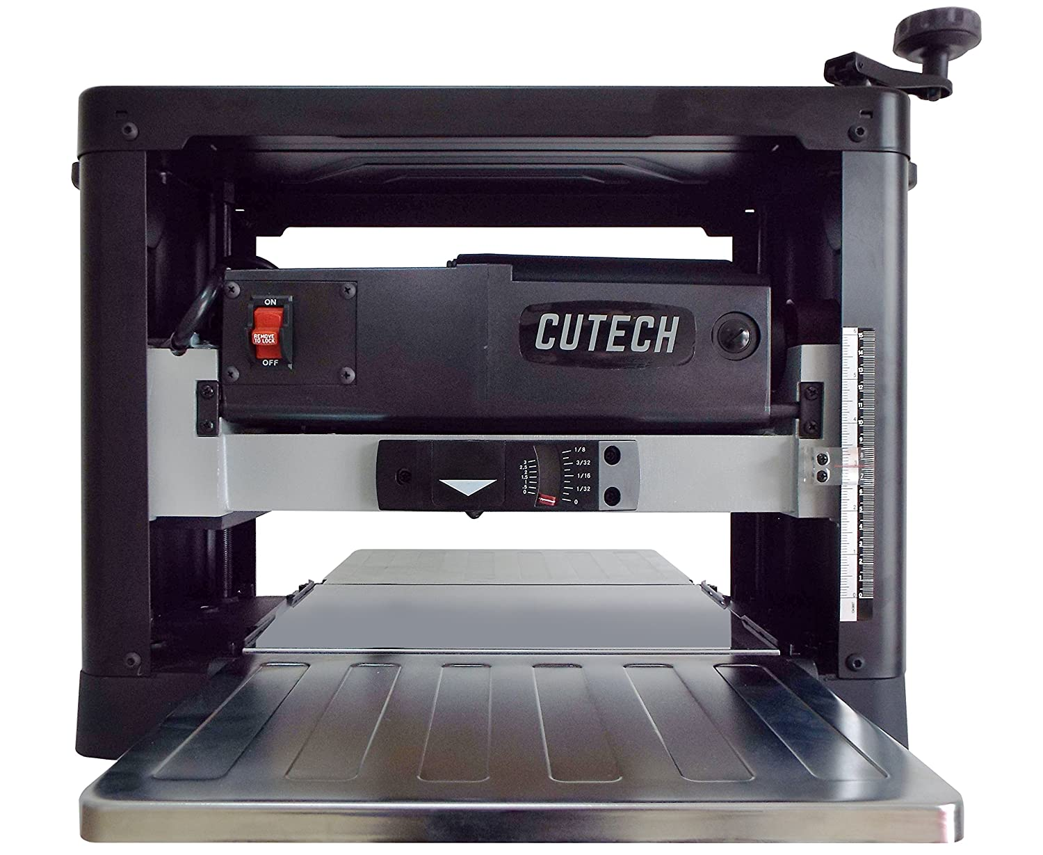 Cutech 40700HC-CT 12 1 2 Spiral Cutterhead Planer with Carbide Tips