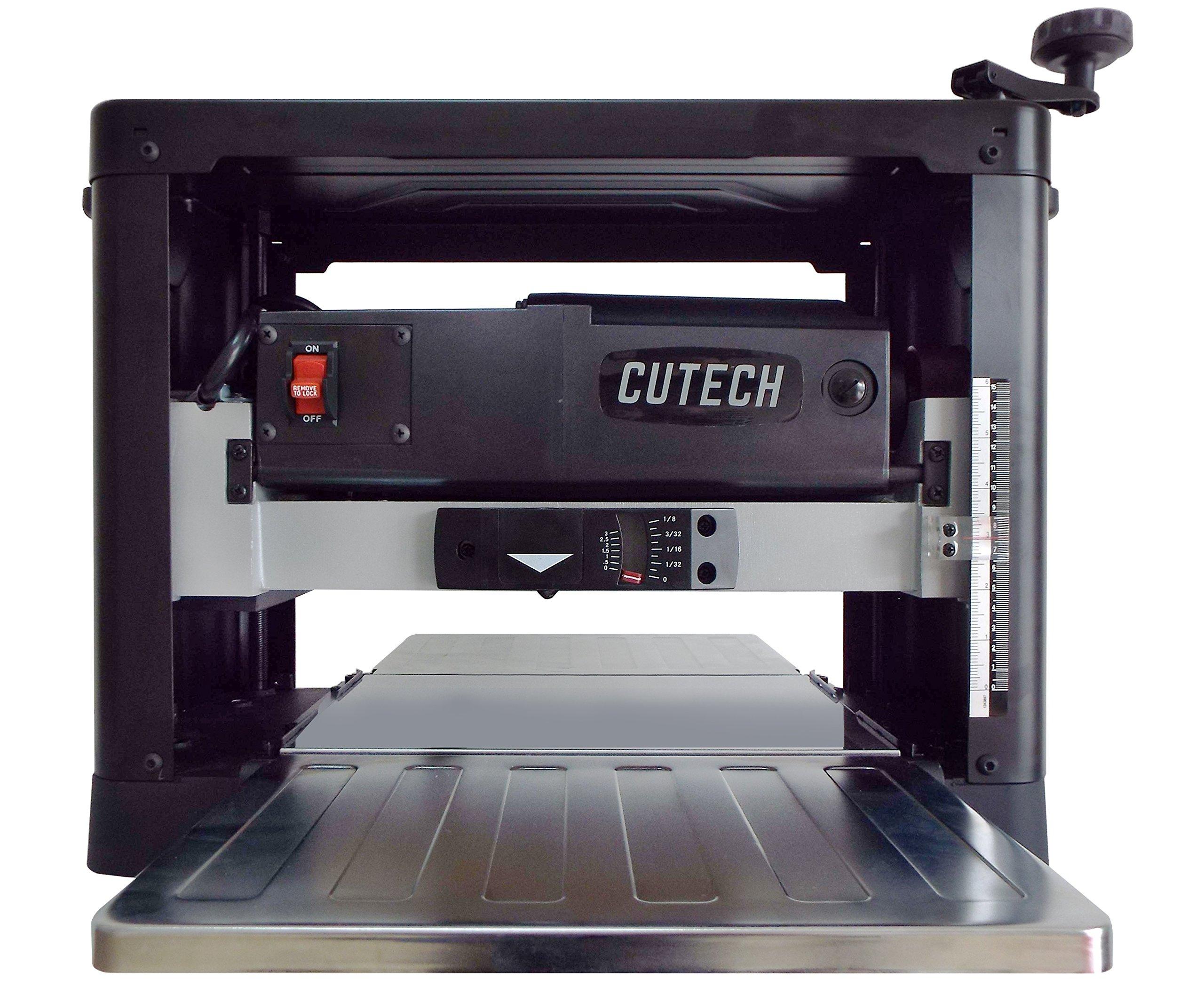 Cutech 40700HC-CT 12 1/2'' Spiral Cutterhead Planer with Carbide Tips