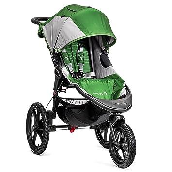 Baby Jogger Summit X3 Single Stroller Green Gray