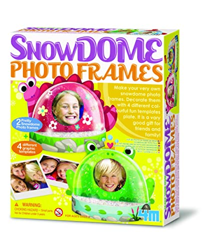 Great Gizmos Snow Dome - Bolas de nieve con marco de fotos