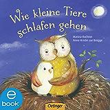Wie kleine Tiere schlafen gehen (German Edition)