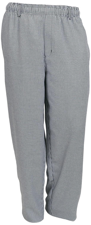 Mercer Culinary M60050BK3X Millennia Men's Cook Pants, 3X-Large, Black