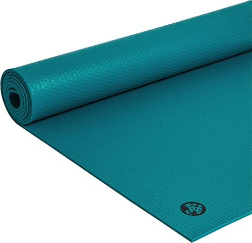 Manduka PRO Yoga Mat Premium 6mm Thick Mat, Eco Friendly, Oeko-Tex Certified, Chemical Free, High Performance Grip, Ultra Dense Cushioning for Support and Stability in Yoga, Pilates, Gym and Fitness