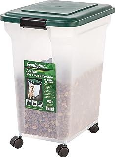 Captivating IRIS USA, Inc. IRIS Remington Airtight Pet Food Storage, 42