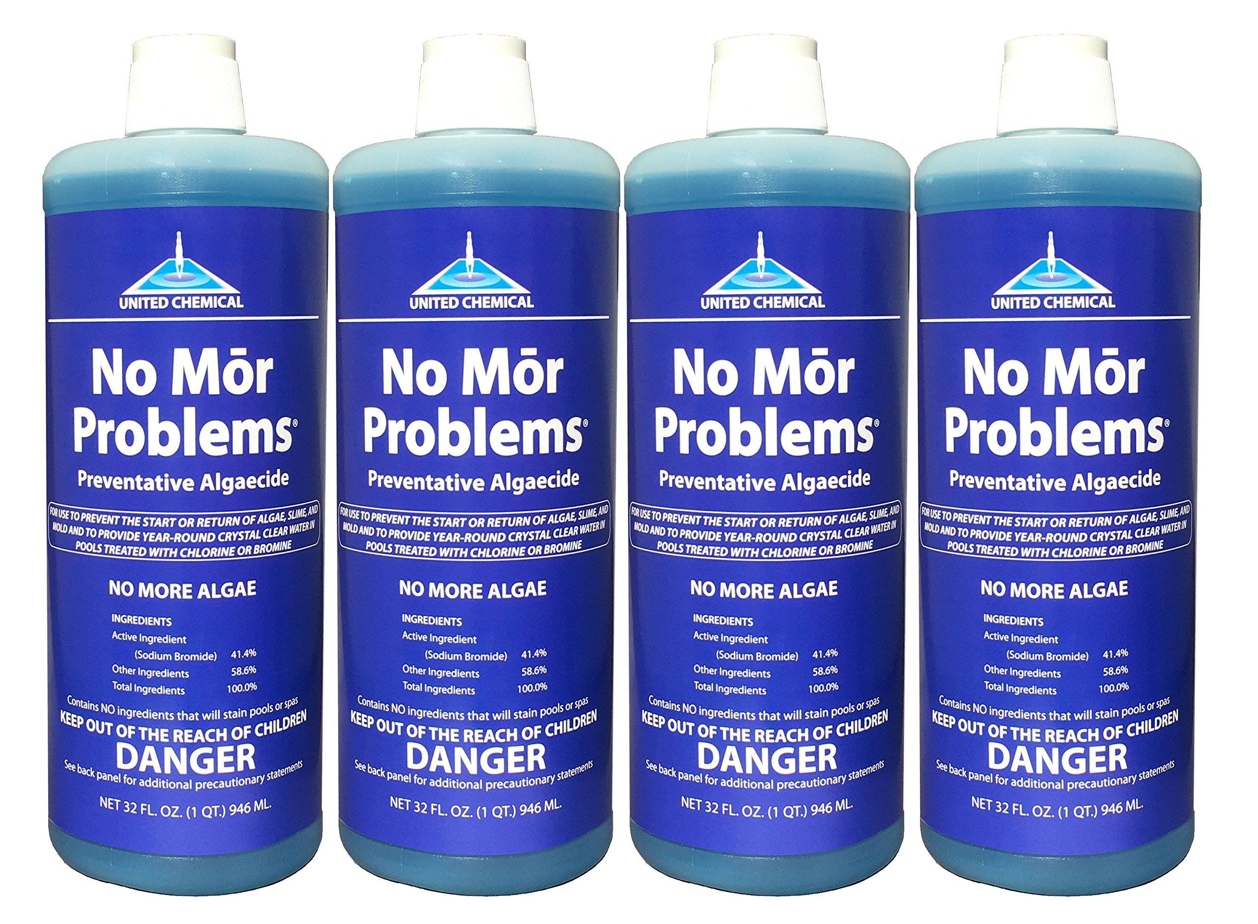 4 PACK - United Chemical No Mor Problems 1qt NMP-C12 by No Mor Problems