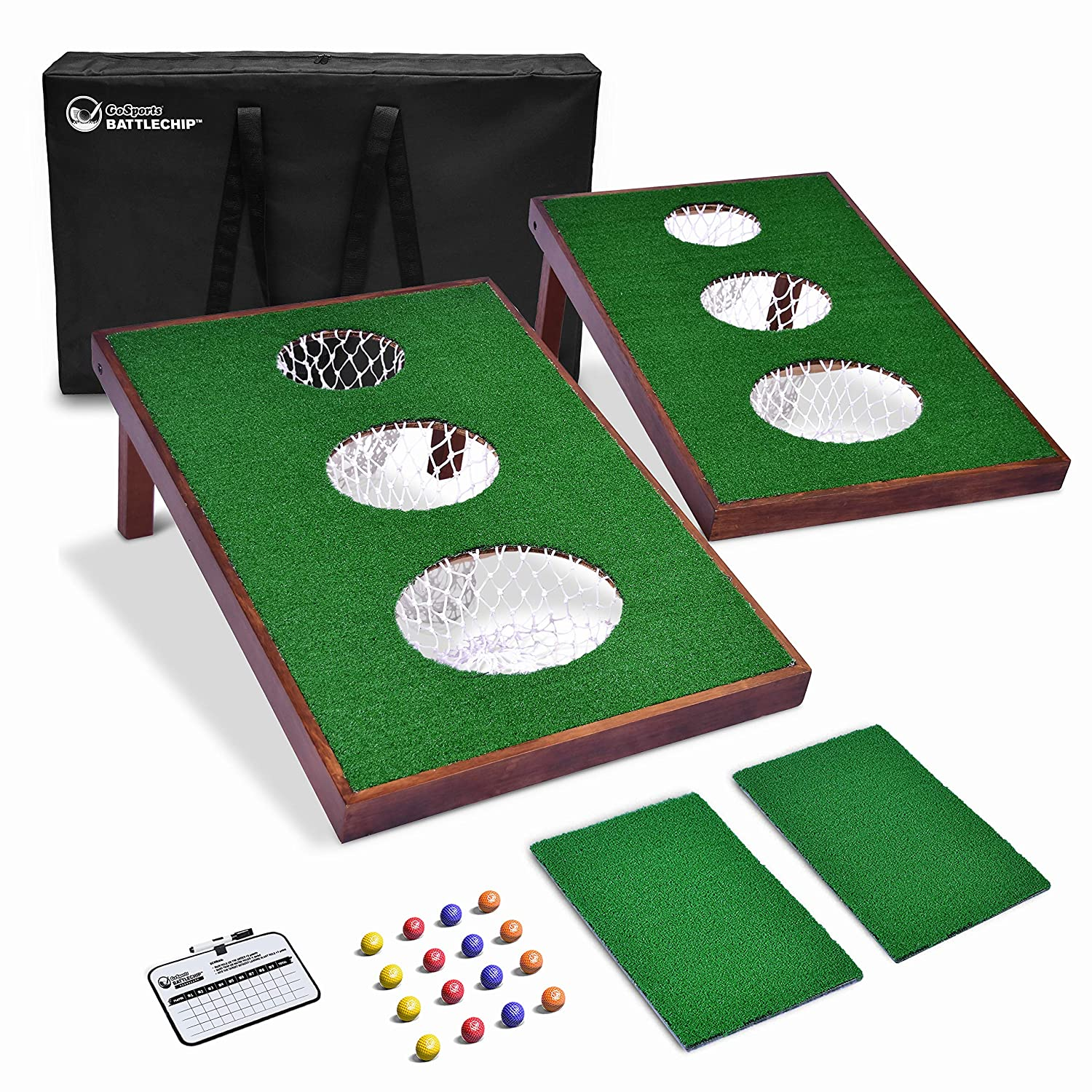 GoSports BattleChip Versus Golf Game | Includes Two 3