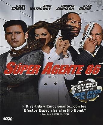 Super Agente 86 Anne Hathaway Steve Carell Alan Arkin Peter Segal Alex Gartner Amazon Com Mx Peliculas Y Series De Tv