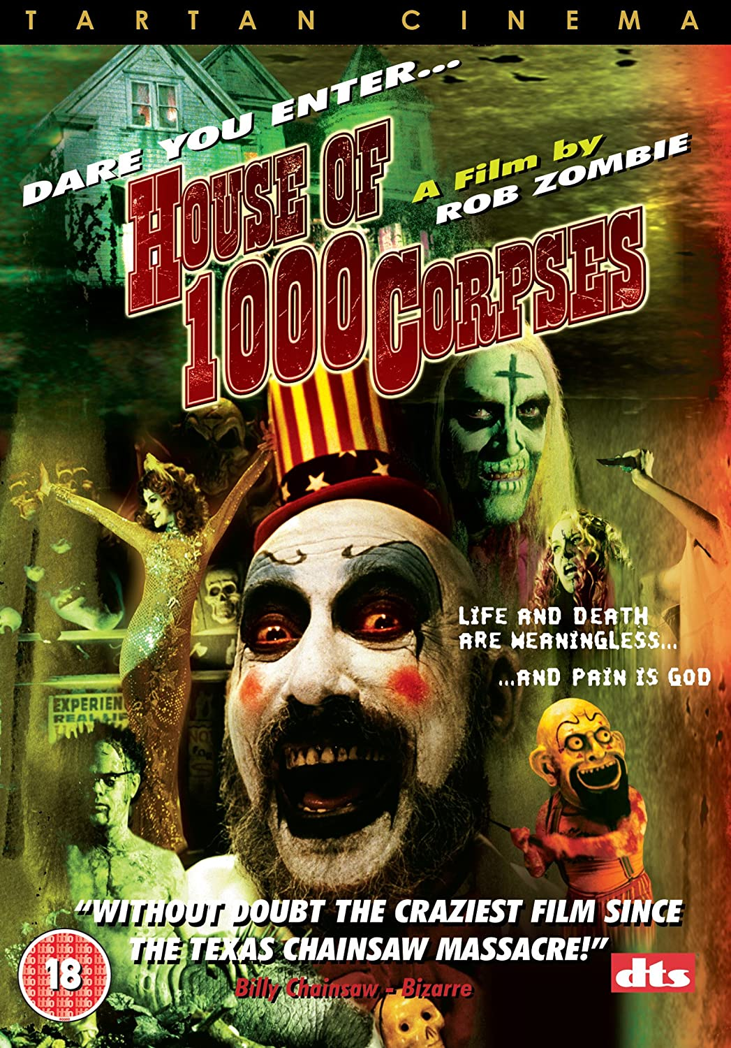 Amazon Com House Of 1000 Corpses Dvd Movies Tv