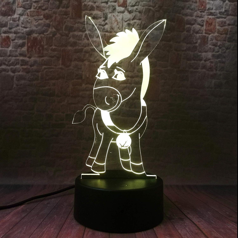 7 Farben /ändern Led Illusion Lampe Touch Schalter USB Tischlampe mit Fernbedienung Schreibtischlampe f/ür Romantische Nacht Valentinstag Liebhaber Geschenk MOPOIN 3D Herz Formen Nachtlichter