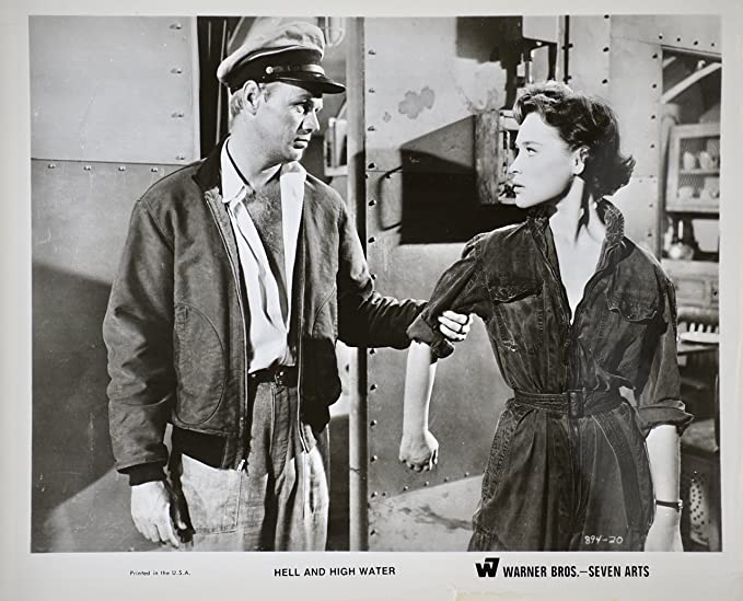 Amazon.com  1954 - Hell and High Water - Vintage 8x10 B W Photograph ... 5148528b1