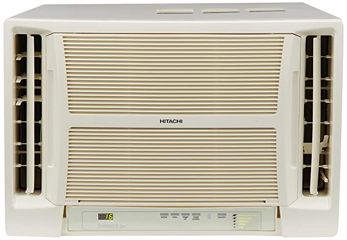 Hitachi 1.1 Ton 5 Star Window AC (RAV513HUD Summer QC, White)