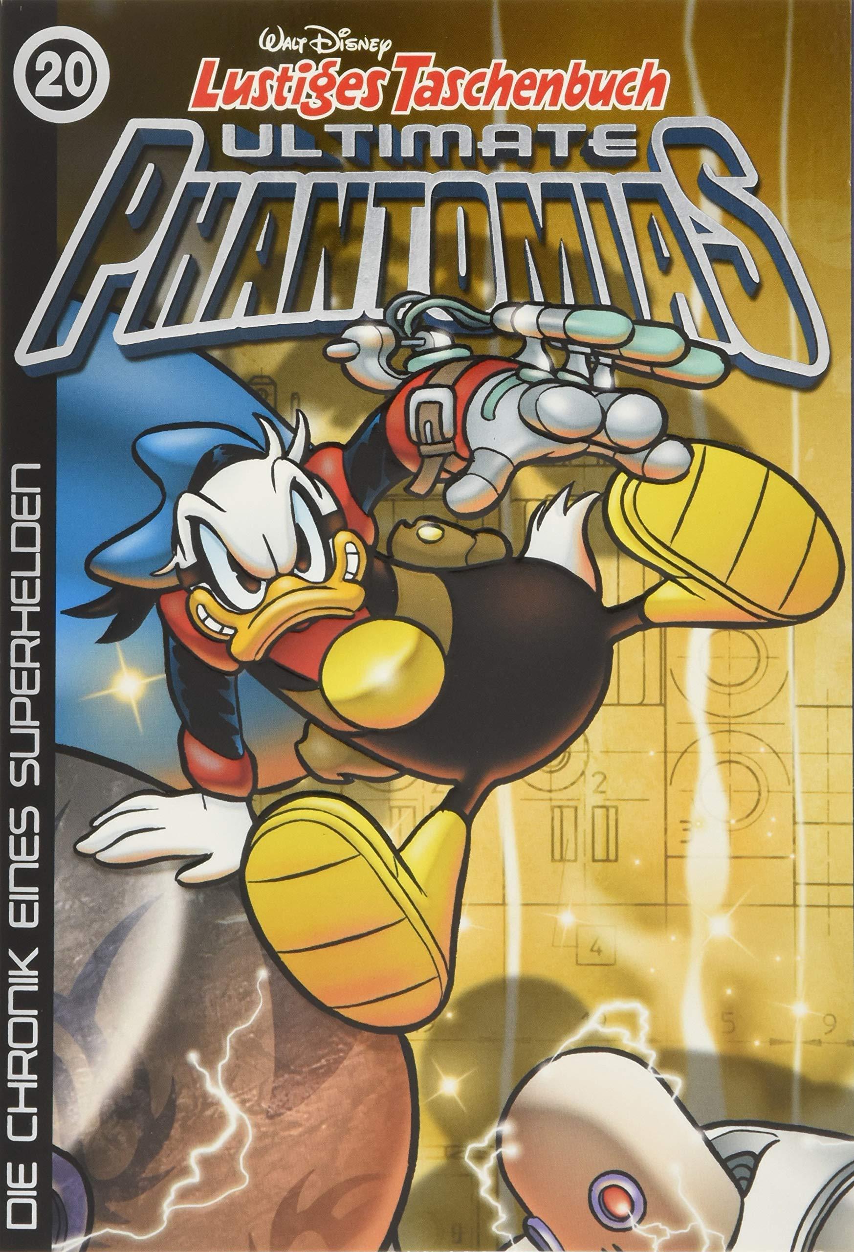 Lustiges Taschenbuch Ultimate Phantomias 20: Die Chronik eines Superhelden
