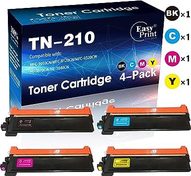 Black Toner Cartridge for  TN210 TN-210 MFC-9120