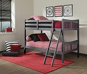 Storkcraft Caribou Solid Hardwood Twin Bunk Bed
