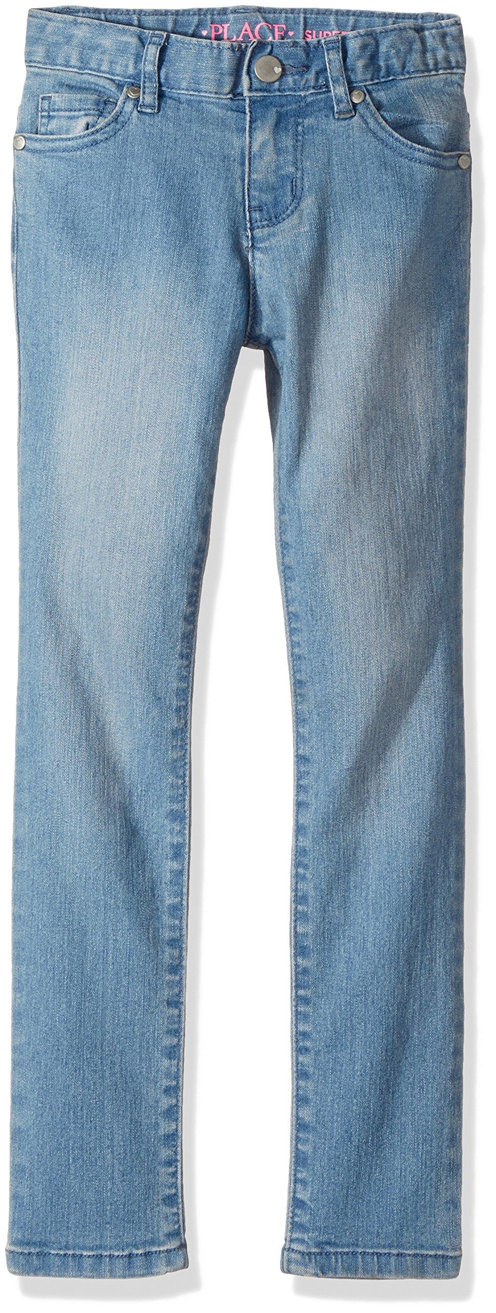 The Children's Place Big Girls' Skinny Jeans, Light