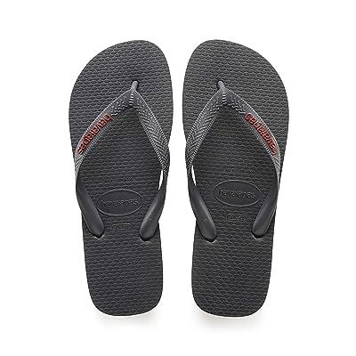 Amazon.com | Havaianas Men's Top Logo Filete Flip Flop Sandal | Sandals