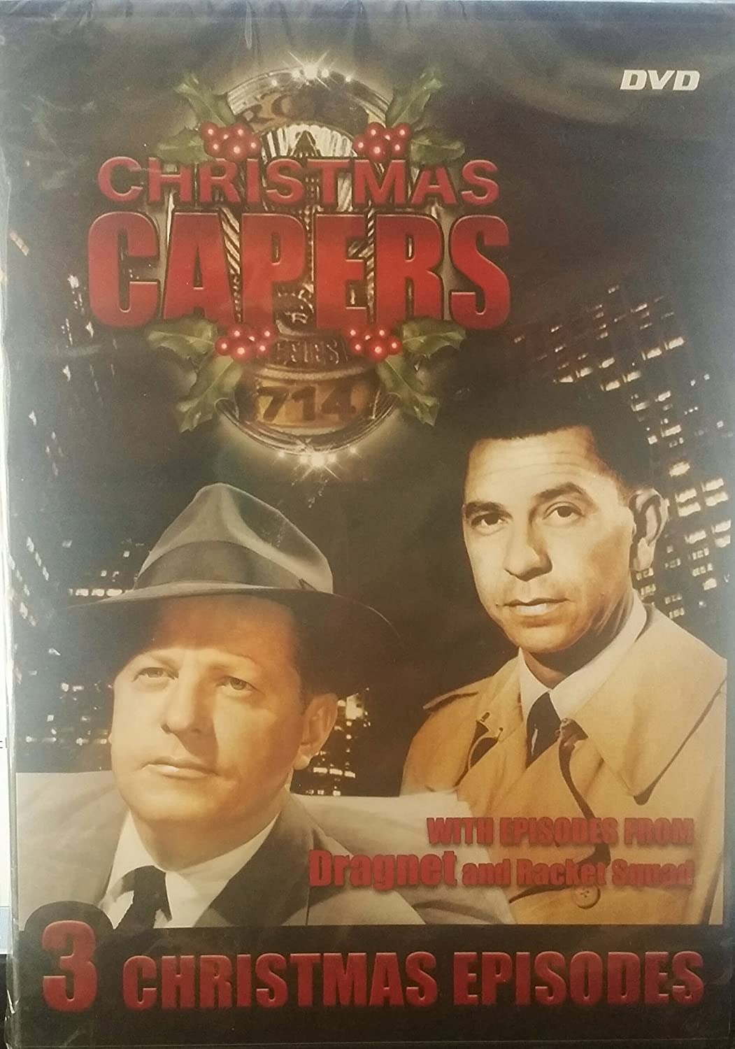 Christmas Dragnet.Amazon Com Christmas Capers With Episodes From Dragnet And