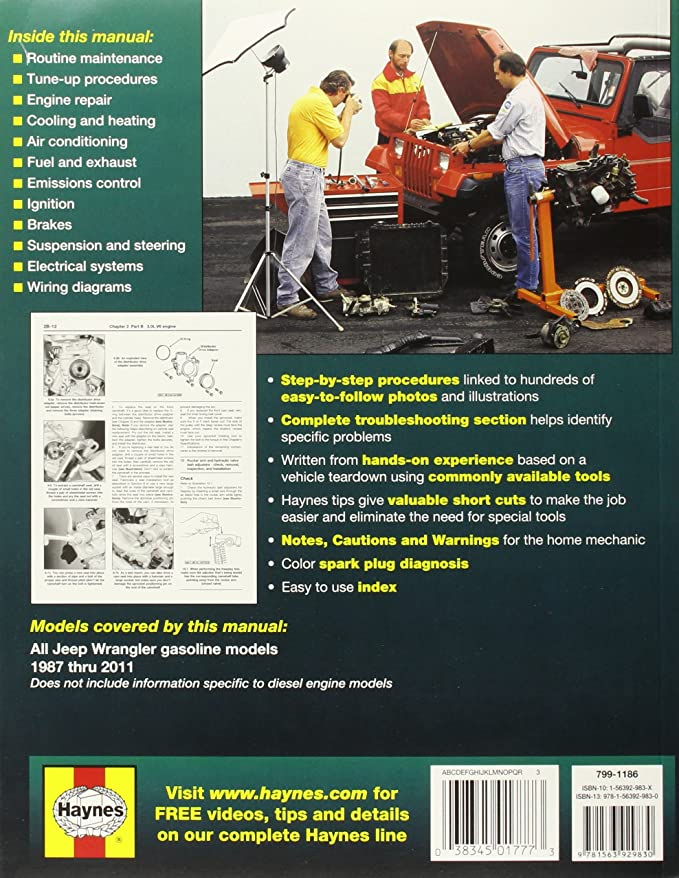 amazon com: haynes publications, inc  50030 repair manual: haynes:  automotive