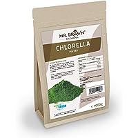 Mr. Brown Chlorella Pulver 1.000 g   Chlorella vulgaris Chlorellapulver 1 kg   abgefüllt in Bayern   in einem wiederverschließbaren Beutel
