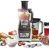 Ninja 1500W Food Processor with Nutri Ninja and Auto-iQ - BL682UK2 (with Chute)