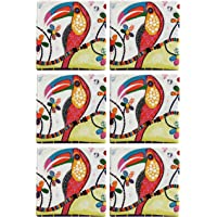 Maxwell & Williams Smile Style Ceramic Tile Coaster Tango 9cm Placemat