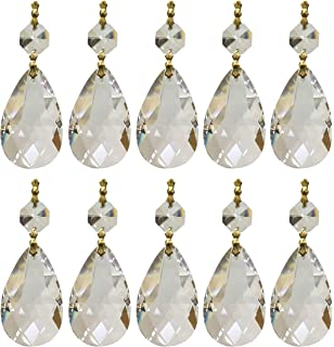 Crystal chandelier pieces light images light ideas amazon highrock teardrop chandelier crystal pack of 10 cell royal designs replacement chandelier crystal prism clear mozeypictures Gallery