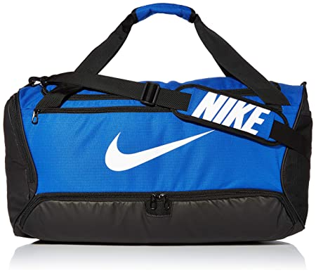 front facing nike brasilia training medium duffle bag