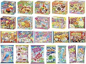 6 Kracie Popin Cookin Kits DIY Japanese Candy Sets