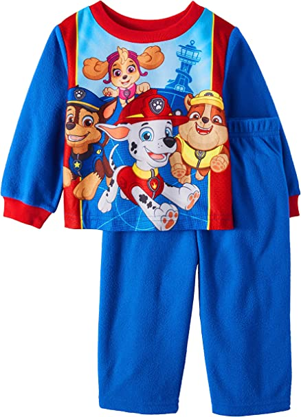 Paw Patrol Baby and Toddler Boys 2 Piece Sleepwear Pajama Set