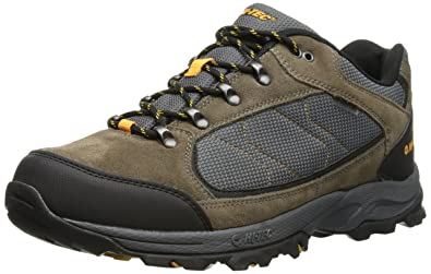 e71124d32532f8 Hi-Tec Men's Oregon II Low Waterproof Hiking Boot,Smokey Brown/Light Taupe