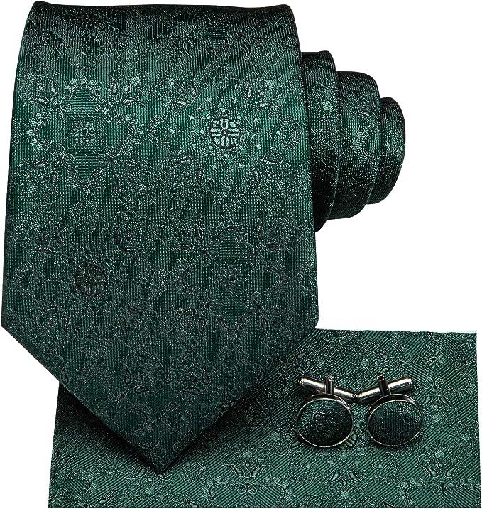 Dubulle - Corbata - para hombre Verde Green Paisely3 85: Amazon.es ...